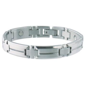 Sabona Men's Steel Sport Magnetic Bracelet Small/Medium-1 Each