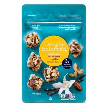 153; Vanilla Nut Clusters Snack Mixes 3oz - Simply Balanced™