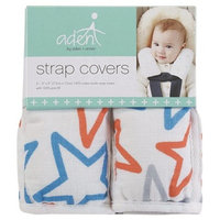 Aden by Aden + Anais Car Seat Strap Cover - small fry