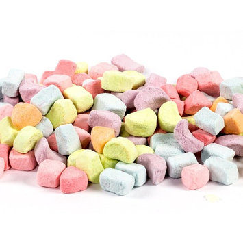 Multicolored Dehydrated Marshmallows