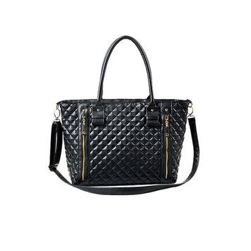 Hotsale Women Lady Lingge Pattern Handbag Shoulder Bag Handbags & Crossbody Bags Tote Purse Hot Fashion PU Leather