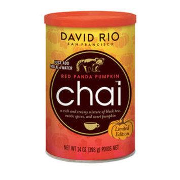 David Rio RP14 Red Panda Pumpkin Chai (SET OF 6 PER CASE)