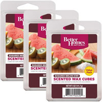 Rimports Usa Llc Better Homes and Gardens Value Wax Pack, Sugared Melon Kiwi