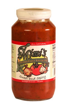 Mimi's Gourmet Pasta, Inc Mimi's Gourmet Pasta Sauce Sweet and Spicy
