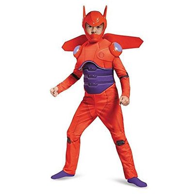 Disguise Costumes Disguise Red Baymax Deluxe Costume, X-Small (3T-4T)