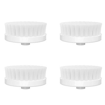 Facial Brush Replacement Heads - Firm Microdermabrasion Face Brush Replacement Heads for the Perfect Skin Brushing by Essential Skin Solutions - Set of 4