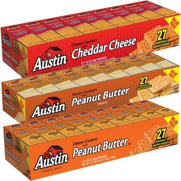 Austin Sandwich Crackers Bundle - Value Packs (Pick 3)
