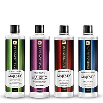 Majestic Hair Botox - Formaldehyde Free - Complete Kit