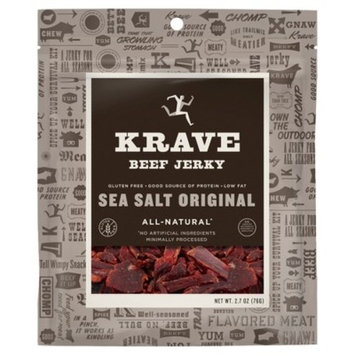 Krave Sea Salt Original Beef Jerky - 2.7oz