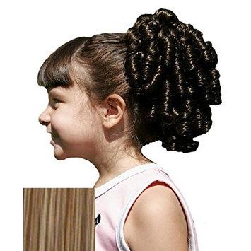 Cheerleader Ringlet Curly Drawstring Ponytail (14: Light Golden Brown)