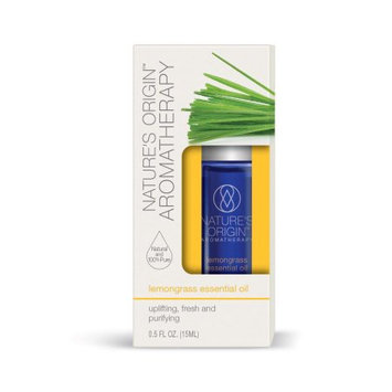 Nature's Bounty Nature's Origin Aromatherapy Essential Oil, Lemongrass, 15 ml