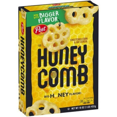 Post Honey-Comb Cereal sweetened corn & oat cereal 16 oz Box
