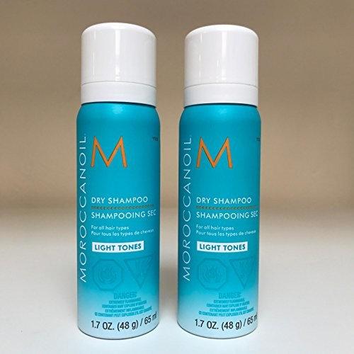 Moroccan Oil Dry Shampoo 1.7oz - Light Tones - SET OF 2