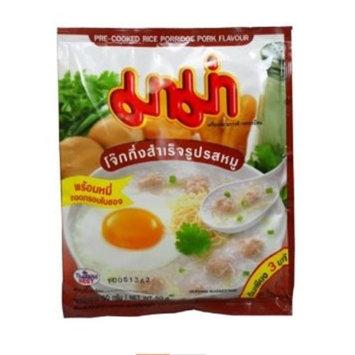 Mama Pre-cooked Rice Porridge Pork Flavour * 5 Packs