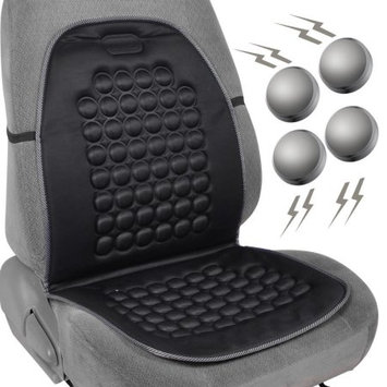 Lavohome Magnetic Bubble Seat Cushion - Massage Therapy - 1pc Padded Cover (Black)