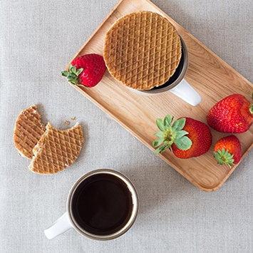 Rip Van Wafels Snack Wafels, Honey and Oats, 4 Count [Honey and Oats]