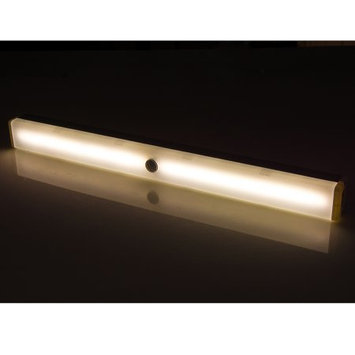 Agptek 36 LED Wireless Motion Sensor Light USB Charging Stick-on Light for Stairway Bedroom, Baby Room Warm white