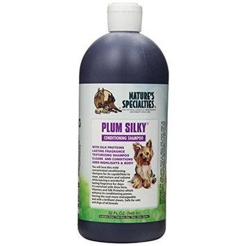 Nature's Specialties Plum Silky Pet Shampoo, 32-Ounce
