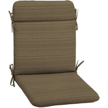 Arden Companies Better Homes and Gardens Outdoor Patio Wrought Iron Chair Pad, Tan Stria