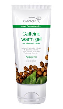 Funat Natural Fat Burner Caffeine Warm Gel Body Scrub Gel Adelgazante 70g 2.5Oz