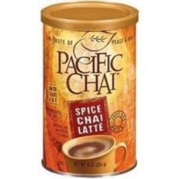 Pacific Spice Chai Latte Mix, 10-Ounce Canisters (Pack of 6)