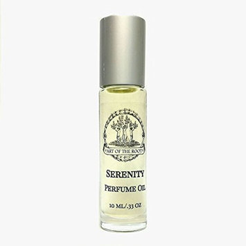 Serenity Roll-On Perfume Oil 1/3 oz for Peace, Serenity, Tranquility & Harmony Wiccan Pagan Hoodoo