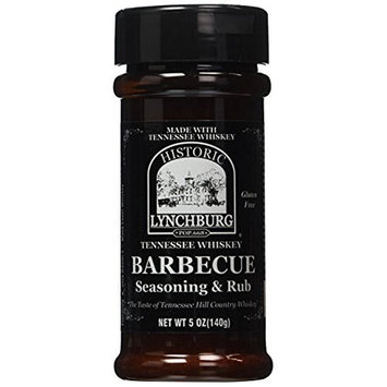 Historic Lychburg Tennessee Whiskey Barbecue Seasoning & Rub - 1 Pack