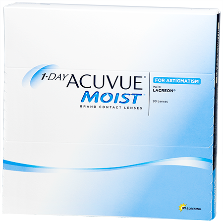 Lenti a contatto 1 Day Acuvue Moist for Astigmatism 90