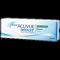 Johnson & Johnson 1-DAY ACUVUE MOIST Multifocal 30 Pack Contact Lenses