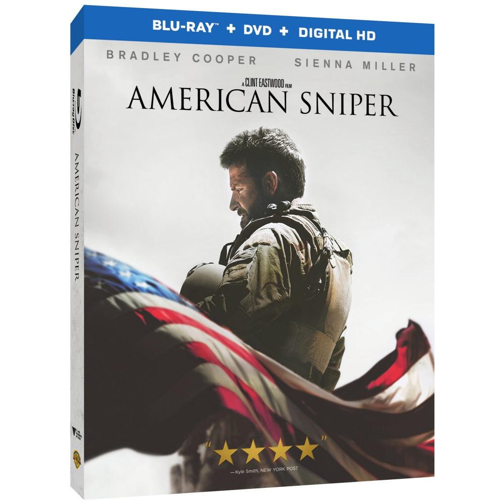 American Sniper Blu-Ray, Dvd, Digital Hd Combo Pack from Warner Bros.