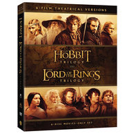Hobbit Trilogy/Lord Of Rings Trilogy DVD