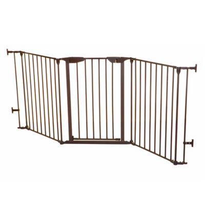 Dreambaby® Newport Adapta-Gate in Brown
