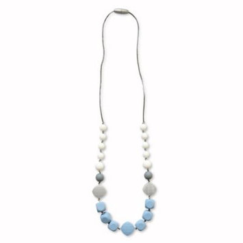 Itzy Ritzy® Teething Happens™ Chewable Mom Jewelry Silicone Necklace in Blue