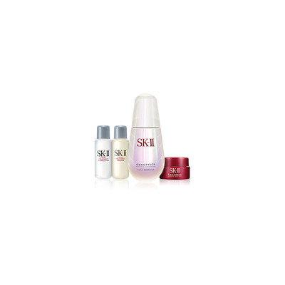 SK-II - Genoptics Aura Essence Kit: Essence 30ml + Essence 10ml + Lotion 10ml + Cream 2.5g 1 set (4 pcs)