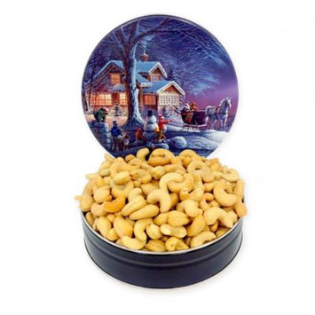 Fifth Avenue Gourmet Jumbo Cashews in a Holiday Tin (16-oz.)