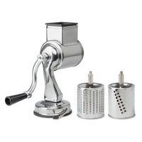 Fantes Cousin Nicos Suction-Base Cheese Grater, 2 Drums
