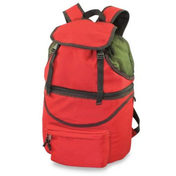 Picnic Time Zuma Insulated Backpack - Red-Black Trim