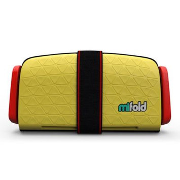 mifold Grab-N-Go Car Booster Seat Taxi Yellow