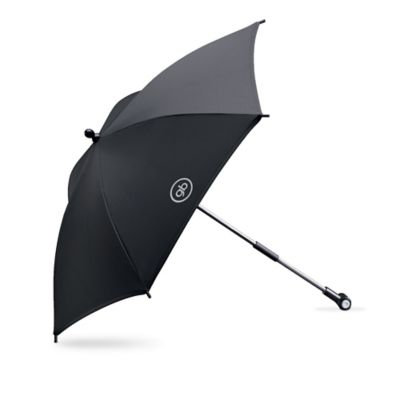 GB 16-Inch Stroller Parasol in Black