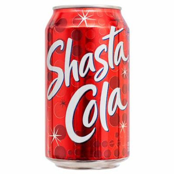 New 365330 Shasta 12 Oz Cola (24-Pack) Can Soda Cheap Wholesale Discount Bulk Beverages Can Soda Shasta