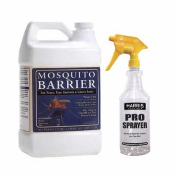 Mosquito Barrier Liquid Mosquito Repellent (1 GAL) with 32 oz Spray Bottle