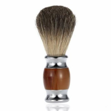 Professional Pure Badger Hair Shaving Brush Resin Handle Barber Salon Men Facial Beard Cleaning Appliance Shave Tool Shaving Razor Brush