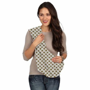 Karma Baby Karma White with Golden Dot Breathable Cotton Fabric Baby Sling - Extra Large