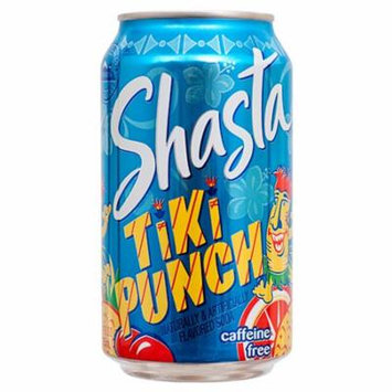 New 365333 Shasta 12 Oz Tiki Punch (24-Pack) Can Soda Cheap Wholesale Discount Bulk Beverages Can Soda Shasta
