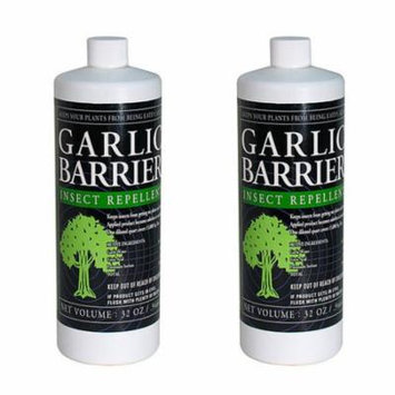 Insect Repellent Garlic Barrier Liquid Concentrate (32 Ounce / 2-Pack)