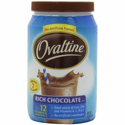 Rich Chocolate - 12 oz - 6 pk Ovaltine - 12 Ounce (Pack of 6)