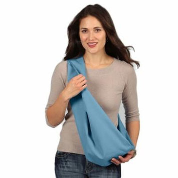 Karma Baby Karma Sky Blue Breathable Cotton Fabric Baby Sling - Extra Large