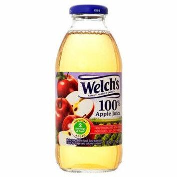 New 355064 Welch's 100% 16 Oz Apple Juice (12-Pack) Fruit Drink Cheap Wholesale Discount Bulk Beverages Fruit Drink