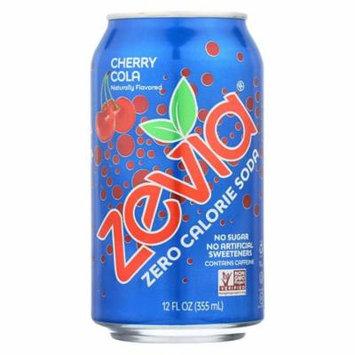 Zevia All Natural Cherry Cola Soda, 12 Ounce - 24 per case.