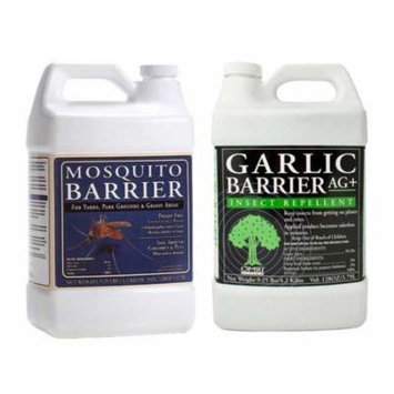 Mosquito Barrier MBGALLON Liquid Mosquito Repellent (1Gallon) w/ GBGALLON Spray